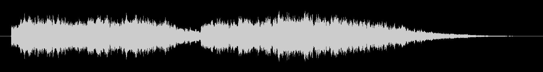 キーンコーンカーンコーンの未再生の波形
