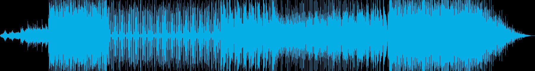懐かしさを感じさせるポップな楽曲の再生済みの波形