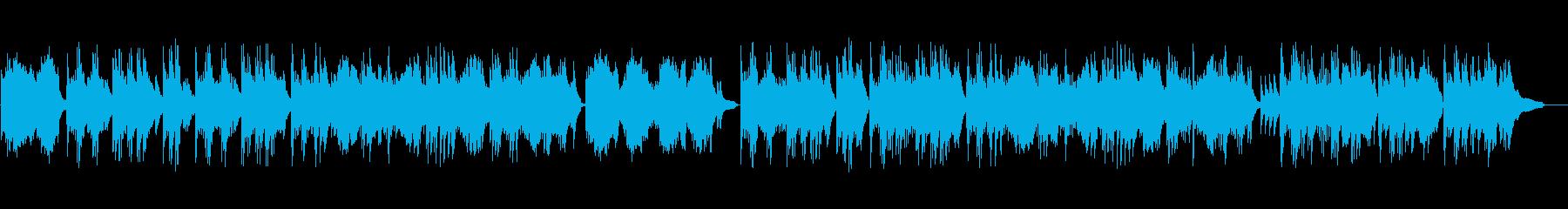 ロマンチックなバラード:ピアノソロの再生済みの波形