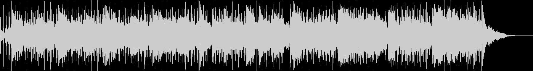 シンセパッドと流れる間奏のための素...の未再生の波形