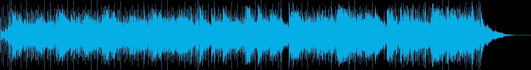 シンセパッドと流れる間奏のための素...の再生済みの波形