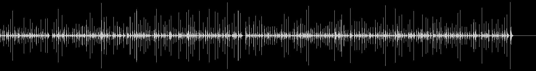 [生録音]キータイピング04‐長め尺の未再生の波形