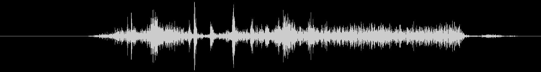 カメラのシャッター音1(カシー)の未再生の波形