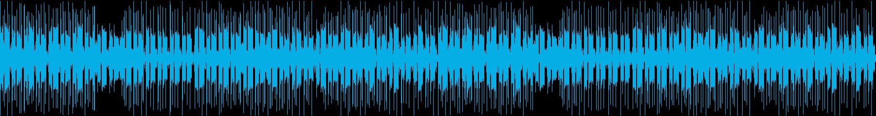 アコギを使ったLoFiチルアウトインストの再生済みの波形