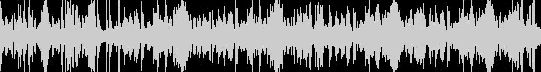 13秒でサビ、おだやか/静めループの未再生の波形