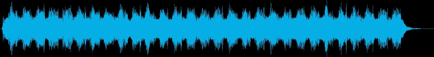 スペースアラーム:急速なリズムの2...の再生済みの波形
