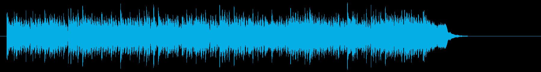 元気一杯なテーマポップス(イントロ~…)の再生済みの波形