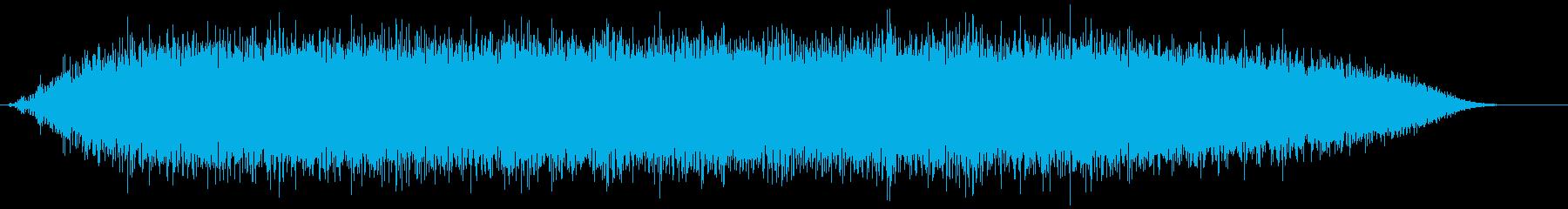 ドライヤー(ロー)の再生済みの波形