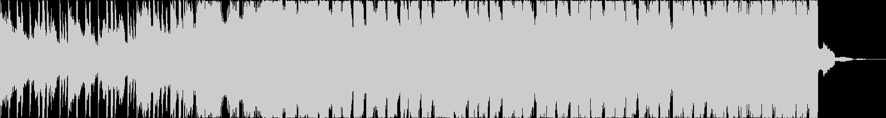 チルアウトクールなトロピカルハウスcの未再生の波形