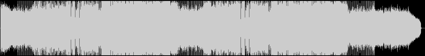 バイオリンメインの前向きなポップスの未再生の波形