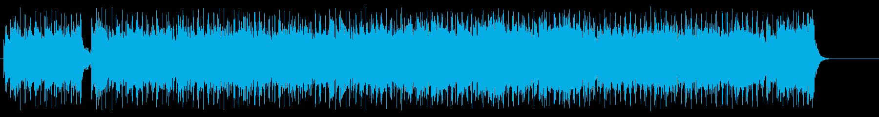 案内物B.G.M.説明物向けの再生済みの波形