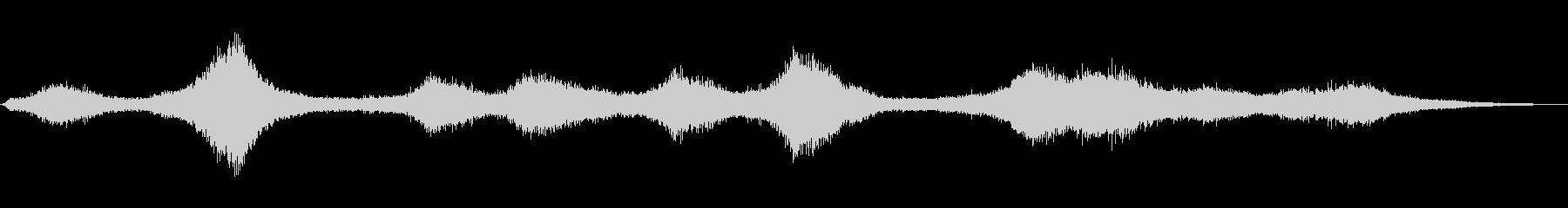 【生録音】 早朝の街 交通 環境音 26の未再生の波形