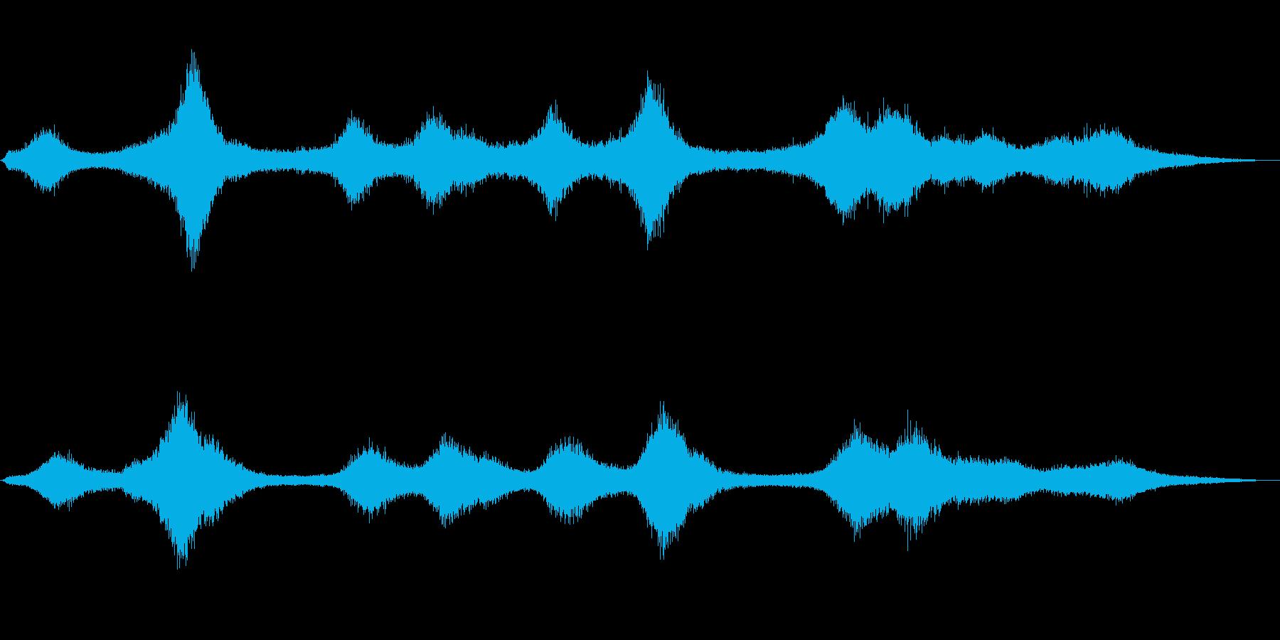 【生録音】 早朝の街 交通 環境音 26の再生済みの波形