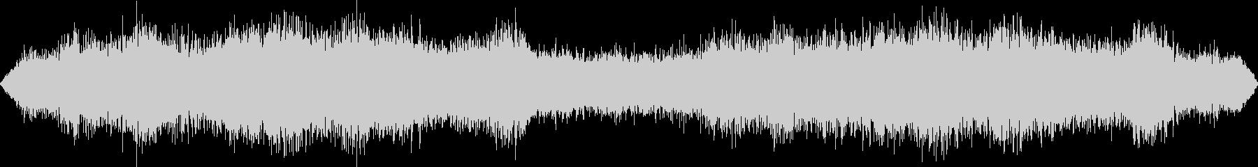 乱気流・ワームホールに吸い込まれる音の未再生の波形