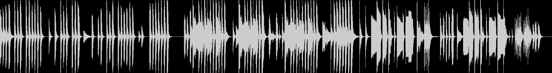 【ループ仕様】素朴でほのぼのとコミカルの未再生の波形