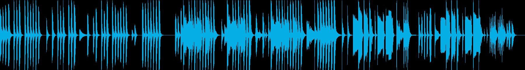【ループ仕様】素朴でほのぼのとコミカルの再生済みの波形