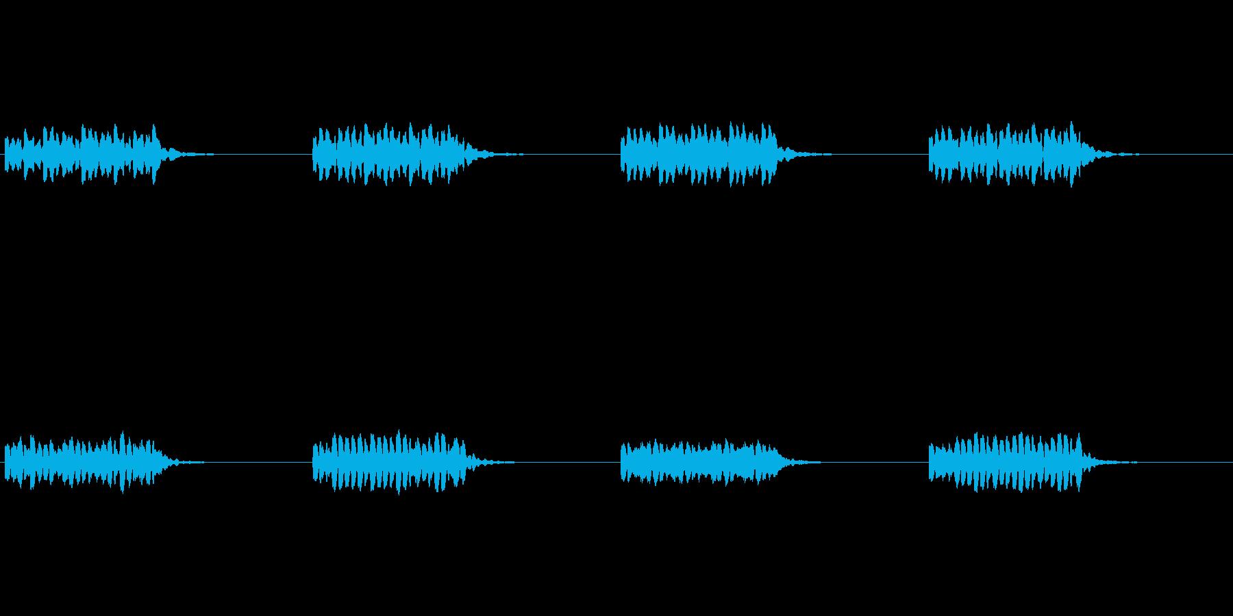 【携帯電話 着信音01-3L】の再生済みの波形