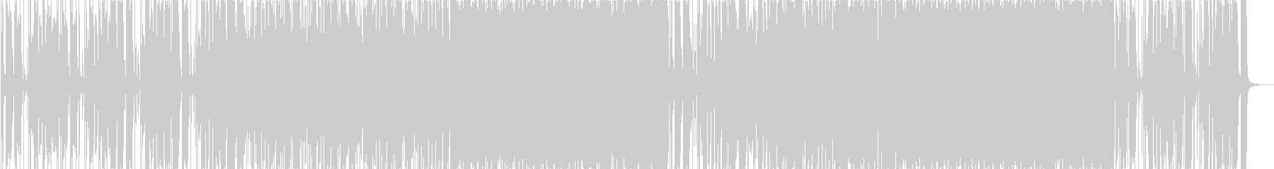 ハードロック、ポジティブの未再生の波形