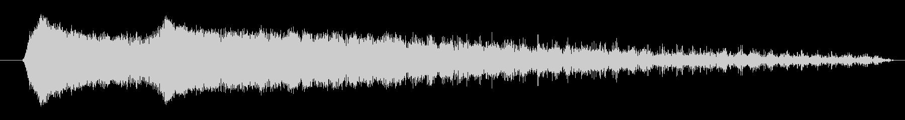 FX ショートスピニングファイア01の未再生の波形