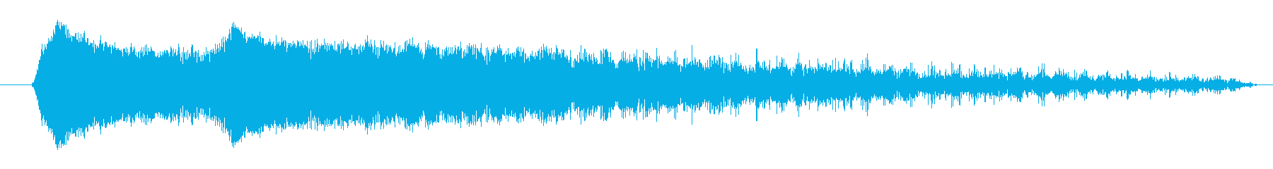 FX ショートスピニングファイア01の再生済みの波形