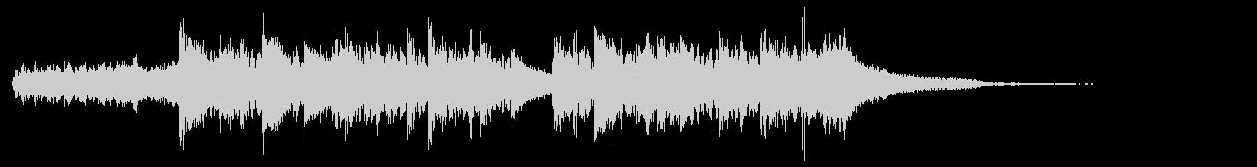 ハードインパクト!重低音ダブステップロゴの未再生の波形