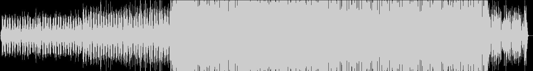 カワイイおしゃれEDM!トロピカルハウスの未再生の波形