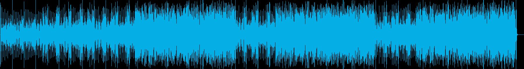 可愛らしいピアノのインスト曲の再生済みの波形