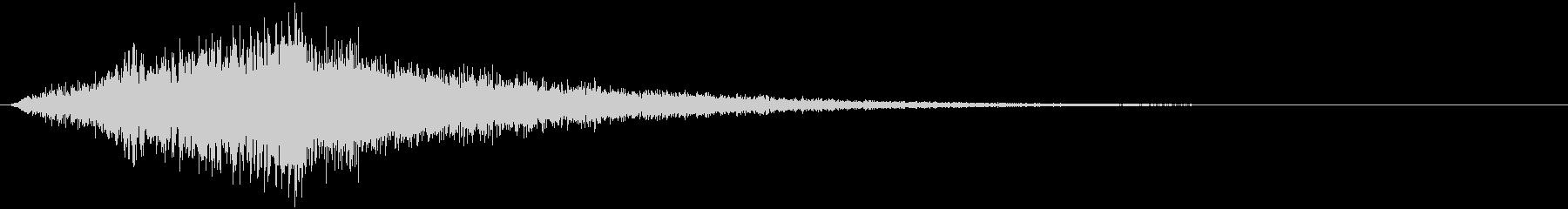 【ホラー】SFX_緊張感_02 ビーストの未再生の波形