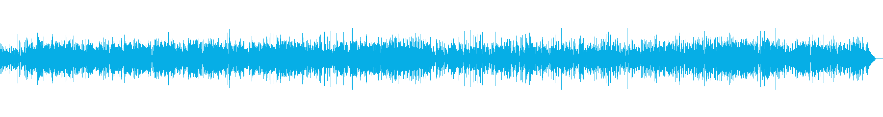 サックスとギターのほのぼのとしたボサノバの再生済みの波形