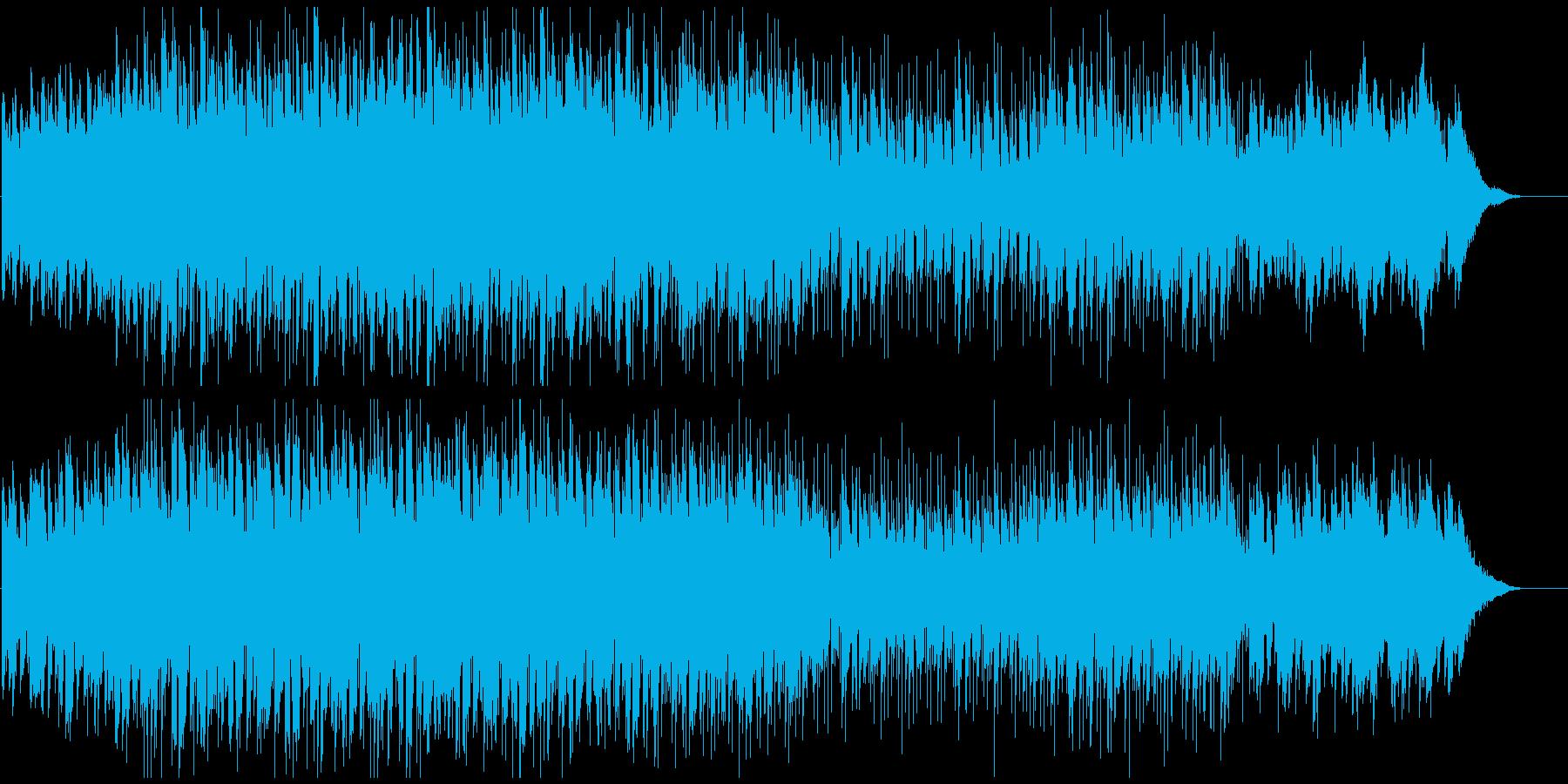 ナイトライフ映像におしゃれで感動的ポップの再生済みの波形