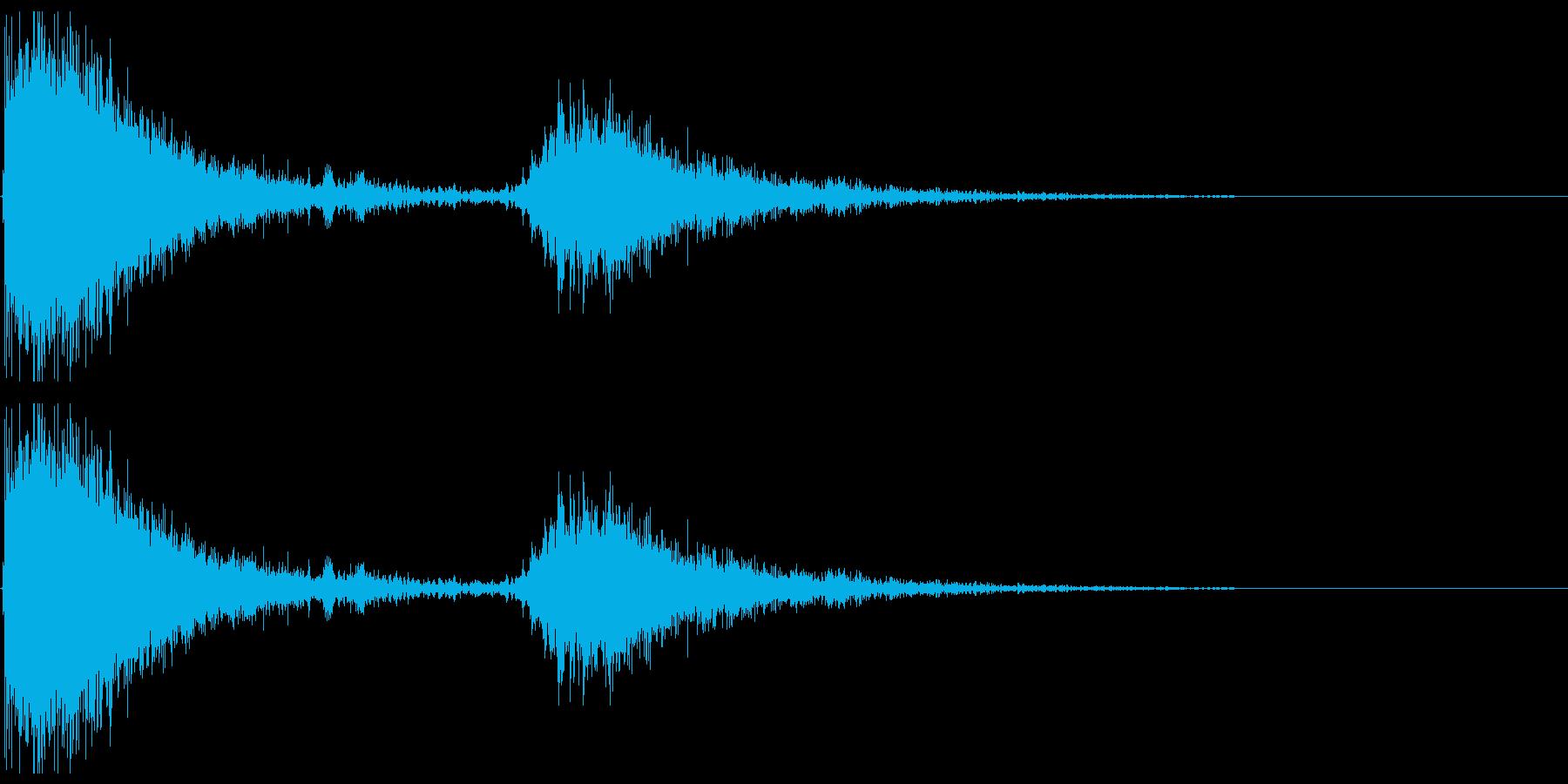 ドアメタルバングシャットbの再生済みの波形