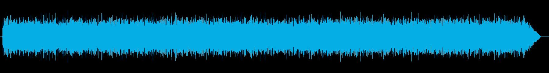 砂嵐効果音 ダーク テレビのノイズ ザーの再生済みの波形