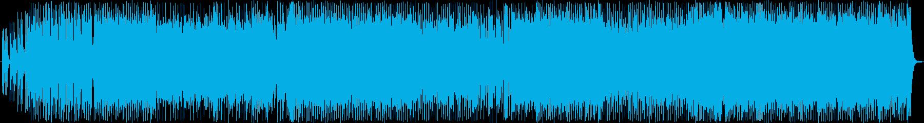 ノリノリアップテンポなポップロックの再生済みの波形