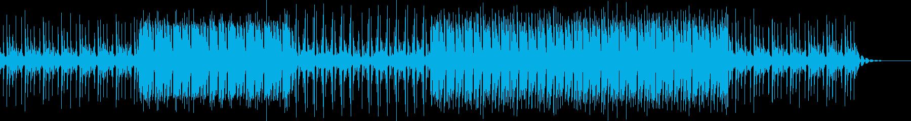 洋楽アンセム クールな曲の再生済みの波形