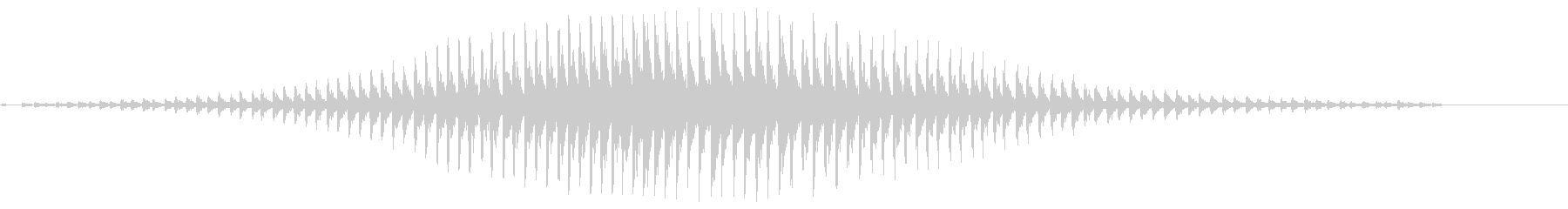 スネアドラム:クレッシェンドロール...の未再生の波形