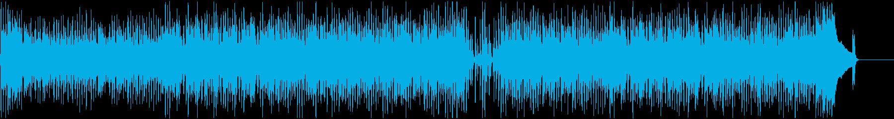 クールでアップテンポなピアノジャズの再生済みの波形