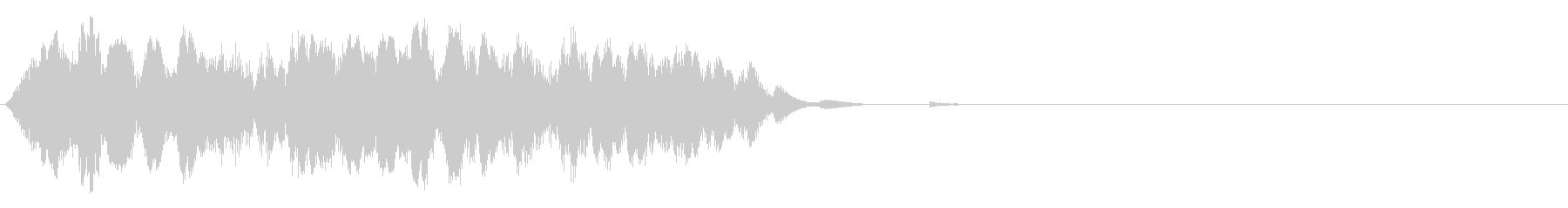 アコーディオン 不協和音(高)の未再生の波形