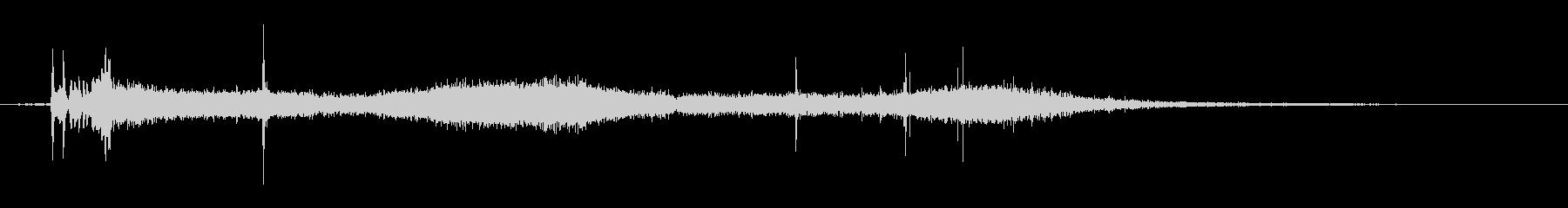 1986シボレーセレブリティ:スタ...の未再生の波形