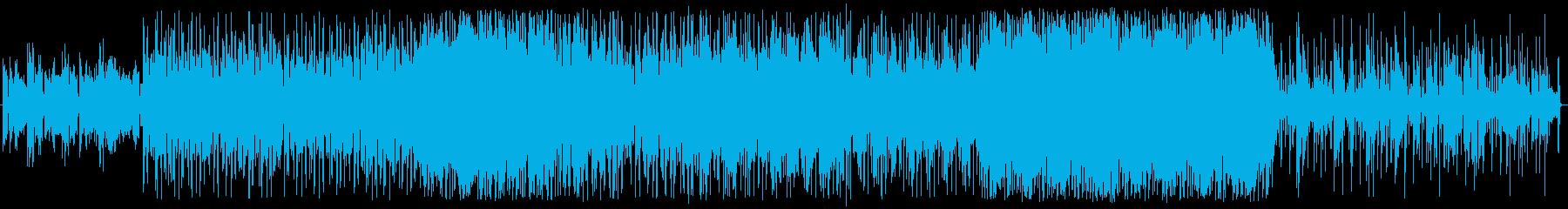 ゆったりとした、ゆったりとした、冷...の再生済みの波形