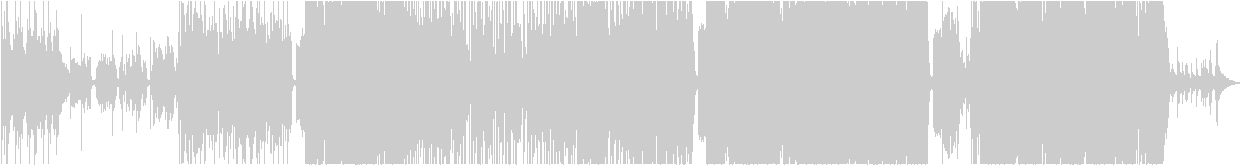 アコギロックヨルシカ風、その2の未再生の波形