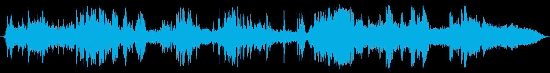 電動フォークリフト:倉庫の内部:重...の再生済みの波形
