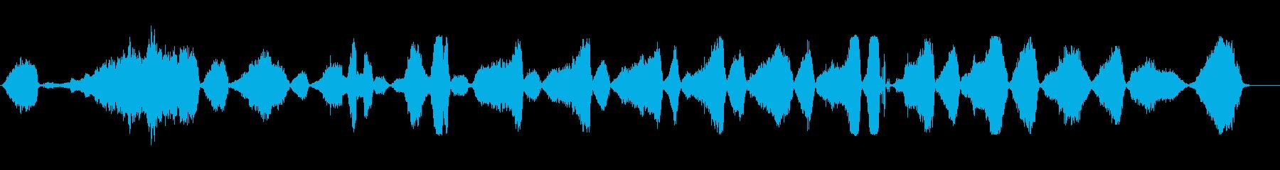 シンセエイリアン呼吸;非常に遅い、...の再生済みの波形