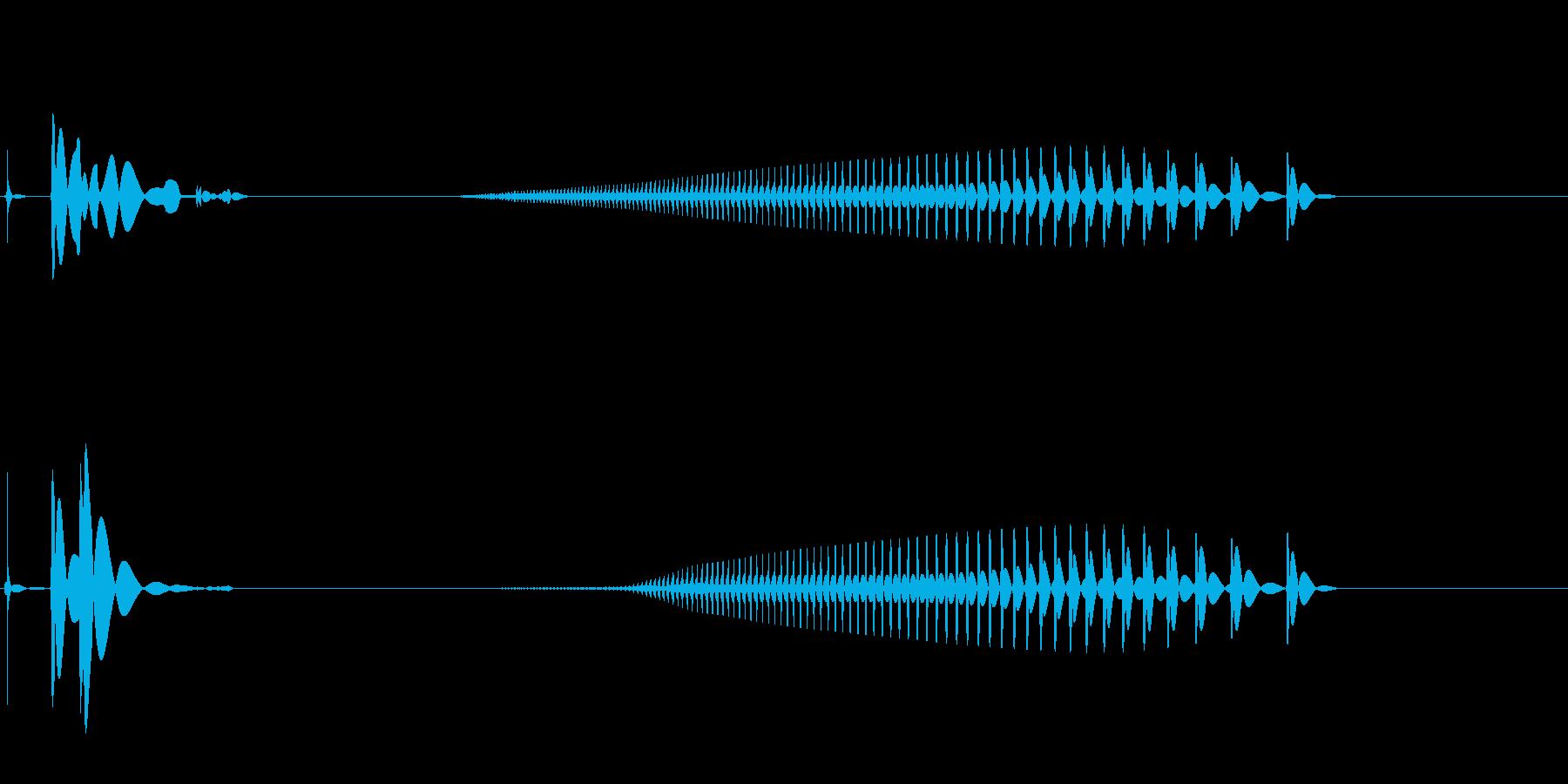 電気マイクアンプ;オフ、ヘッドセッ...の再生済みの波形