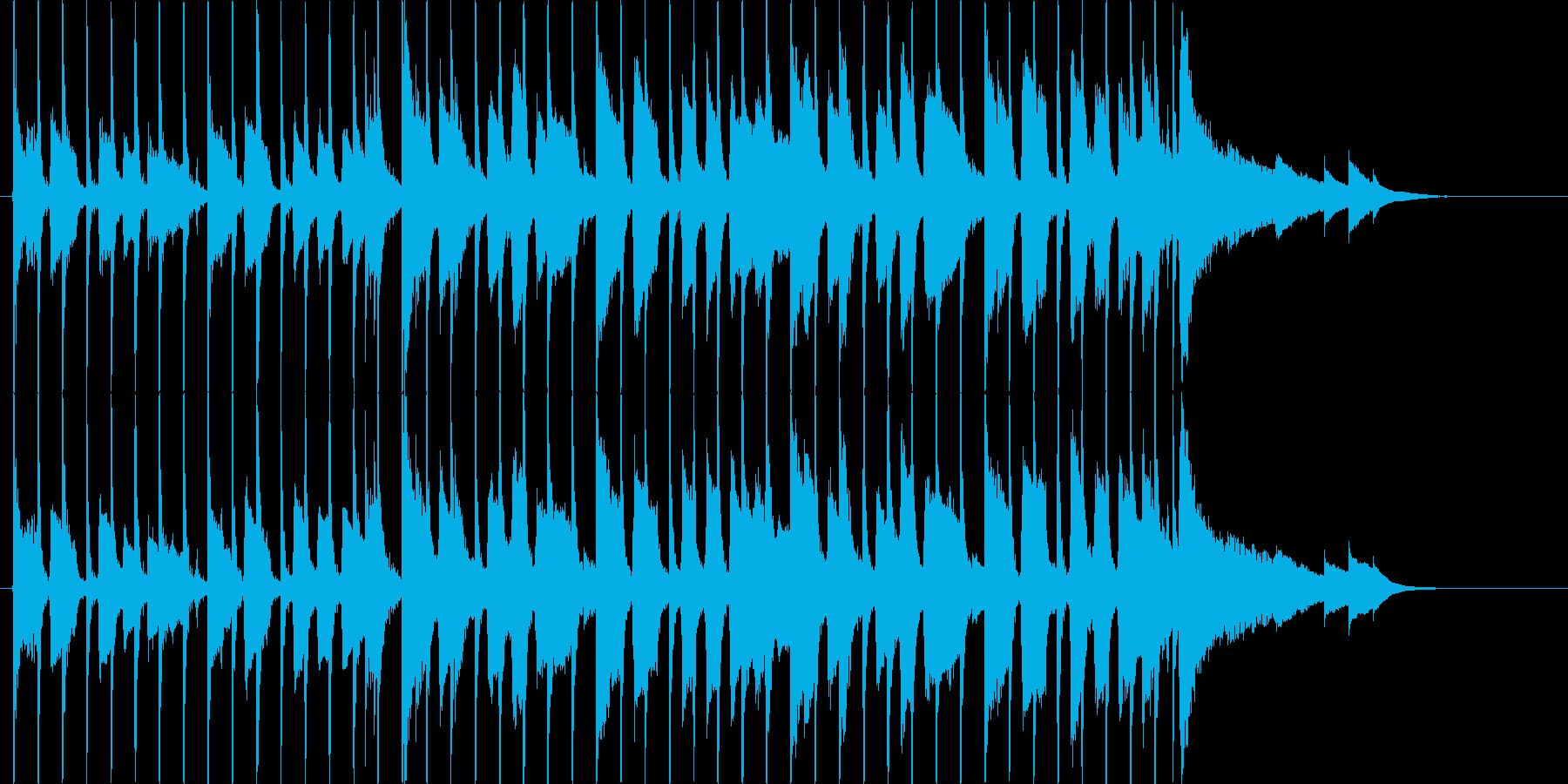 【30秒】新しい季節に合うCM、企業VPの再生済みの波形