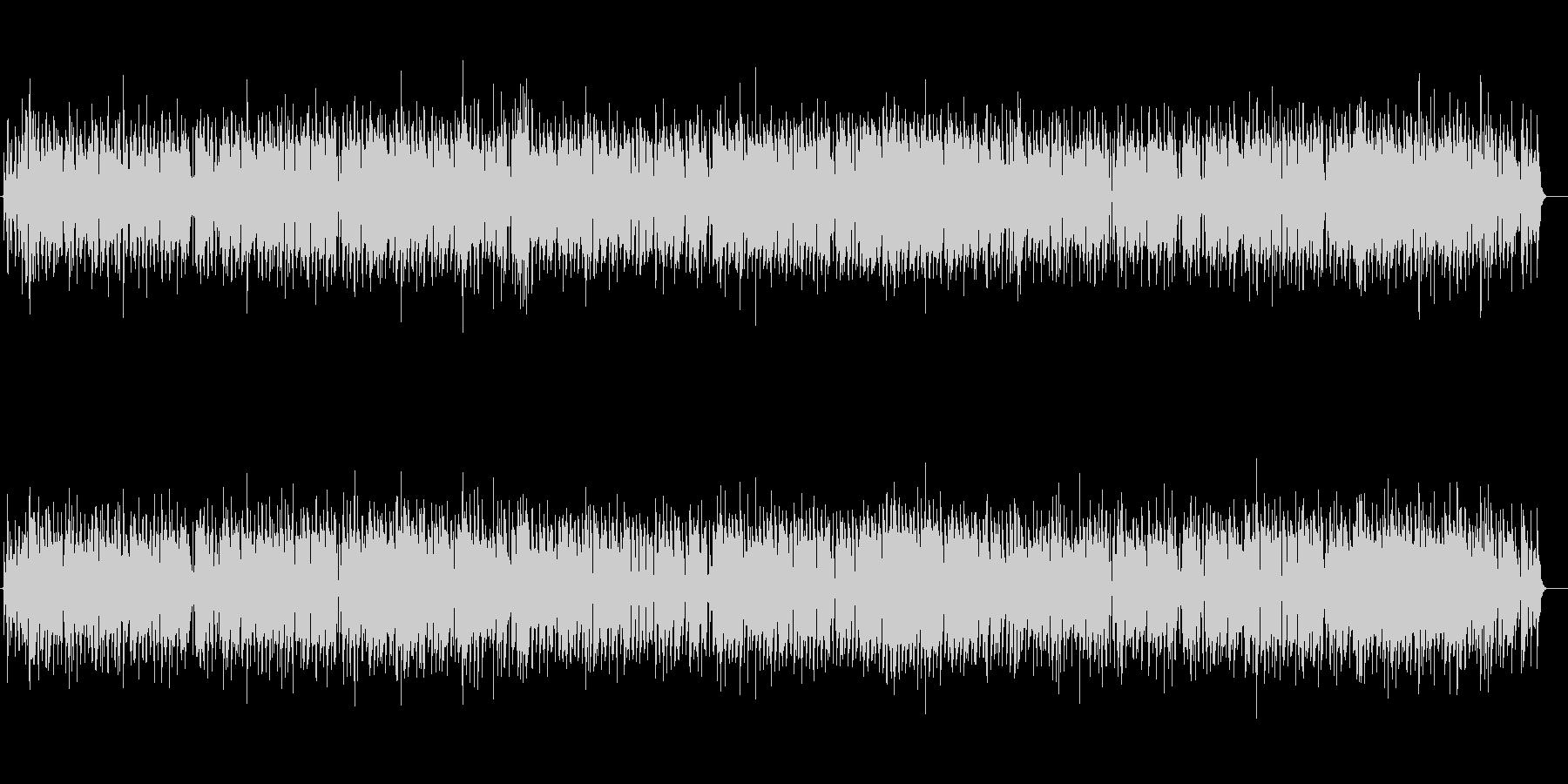 クラリネットの明るく陽気な曲・OP・映像の未再生の波形