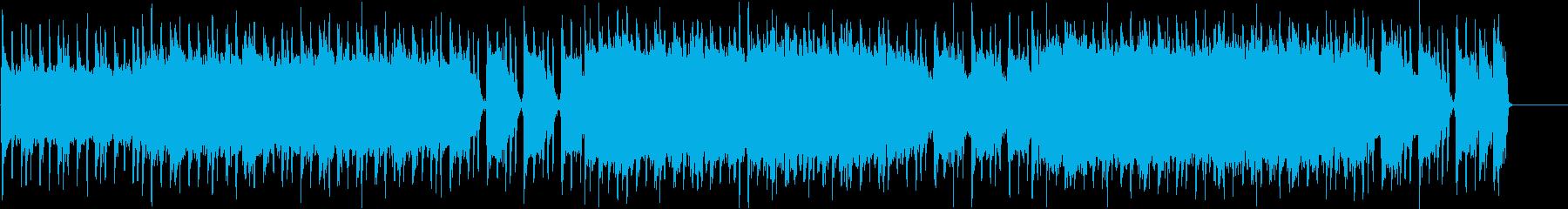 クイーン風クラップ&リズムのギターロックの再生済みの波形