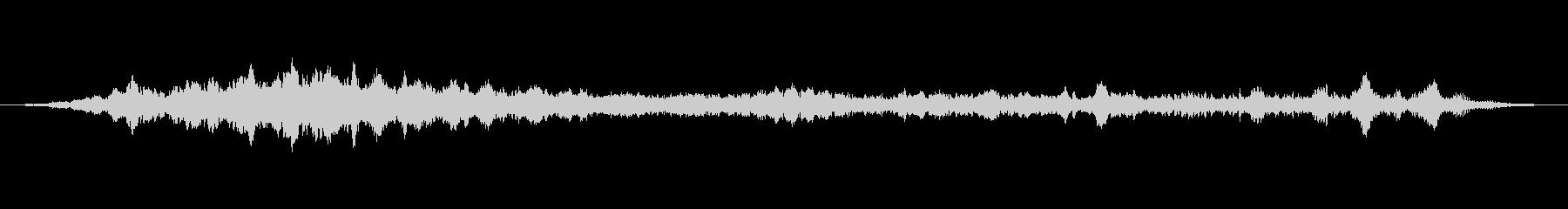 上昇 ホバーグリッチ03の未再生の波形