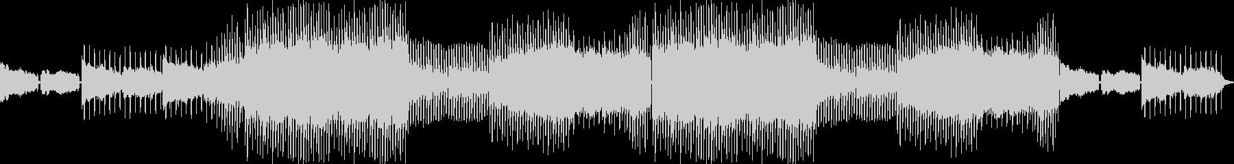 先進的フュージョンミュージックの未再生の波形