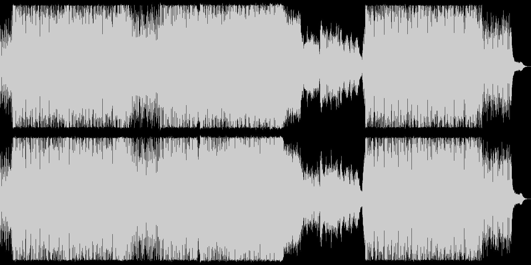 FM風音源のシューティング曲の未再生の波形