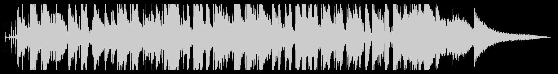 CM30秒ウイスキーのCMなどに最適ですの未再生の波形